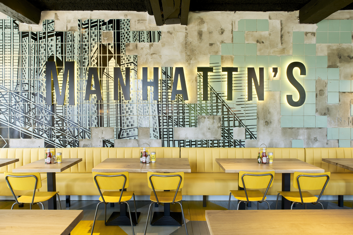 Manhattn's Burger | Project