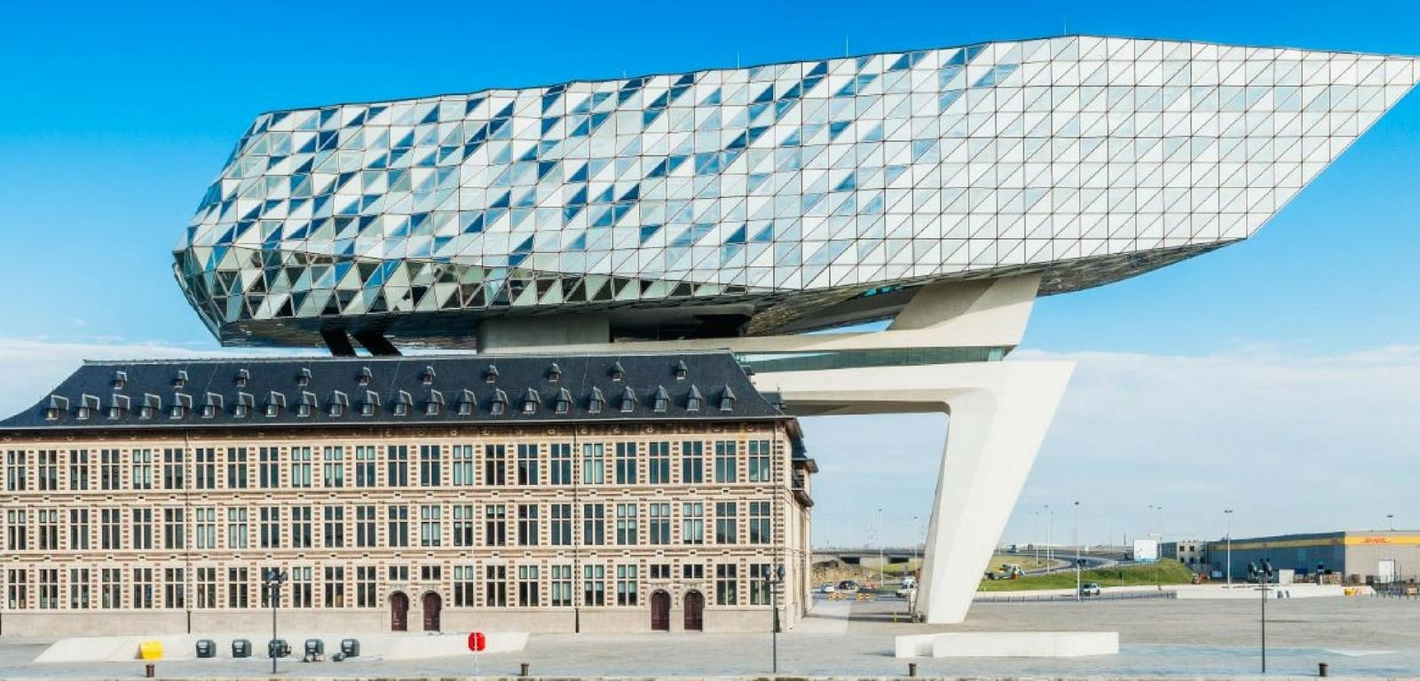 Bekijk Onze Projecten Havenhuis Antwerpen Saint Gobain Building Glass