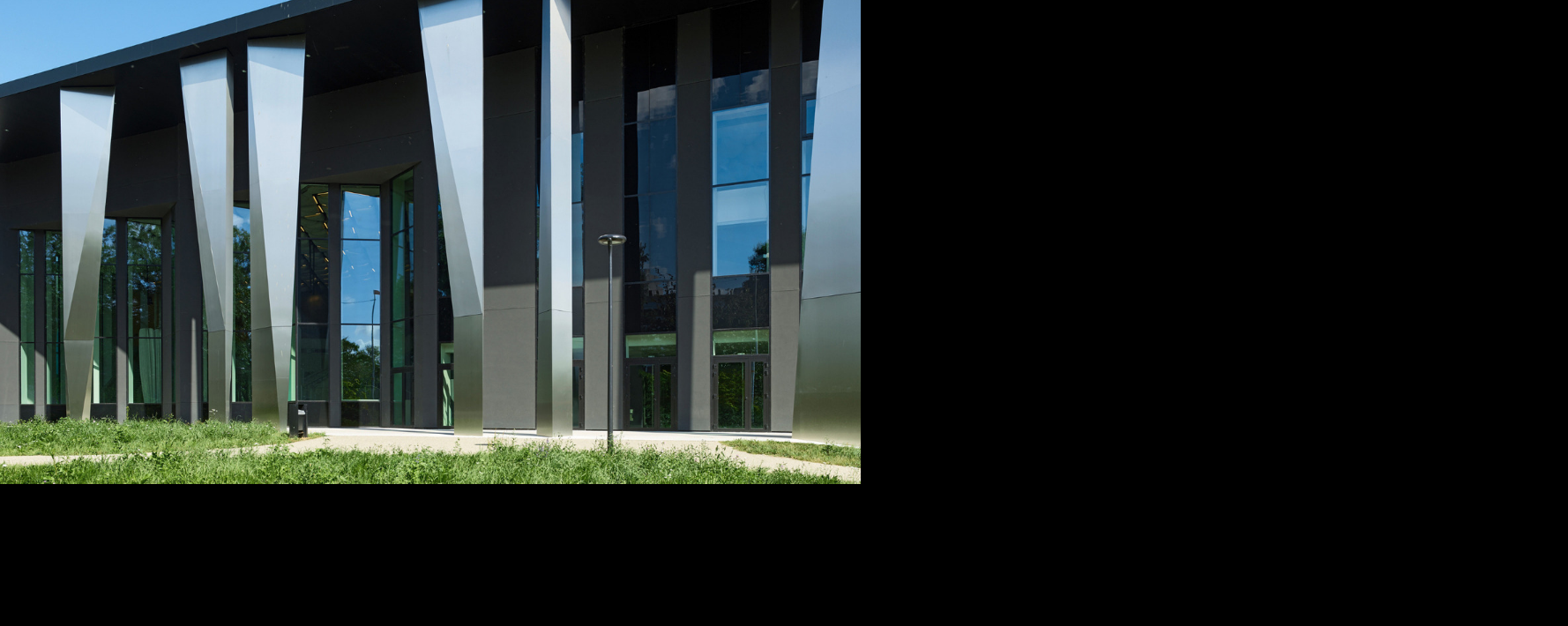 Façade en verre de contrôle solaire Saint-Gobain
