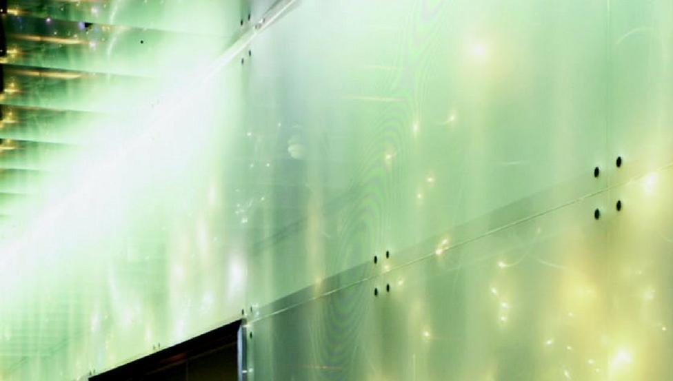 OPALIT EVOLUTION in glazen gevel