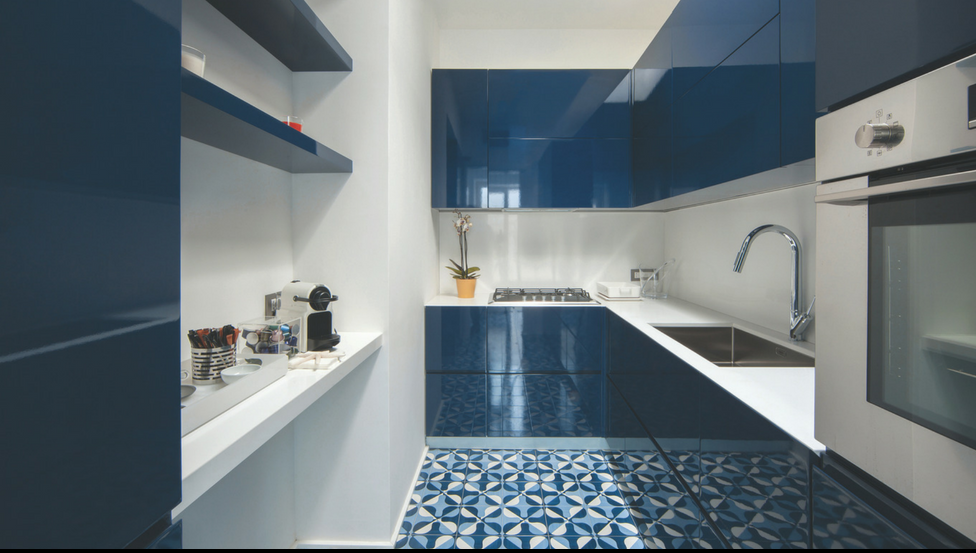 Spatwanden in de keuken met gelakt glas in alle kleuren PLANILAQUE COLOR-IT