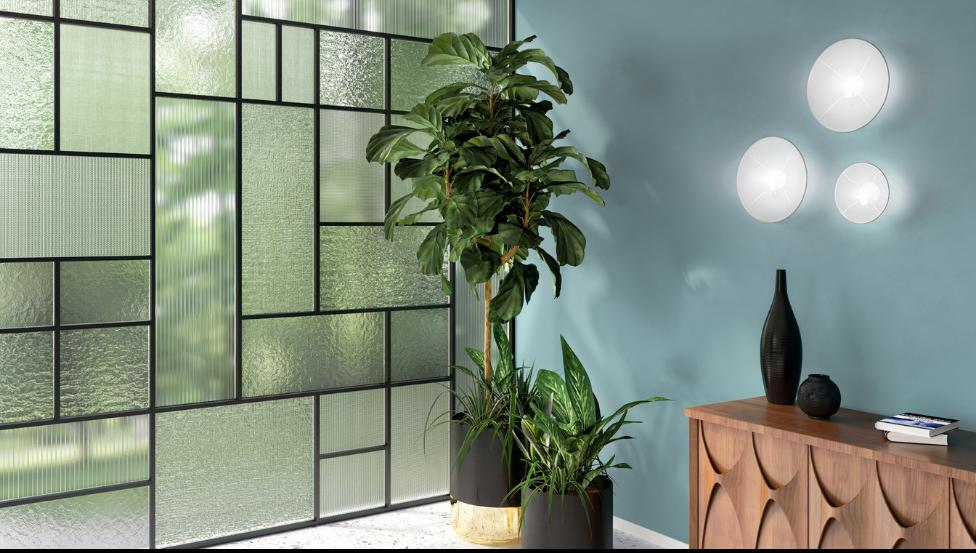 SGG DECORGLASS als glazen scheidingswand in interieur