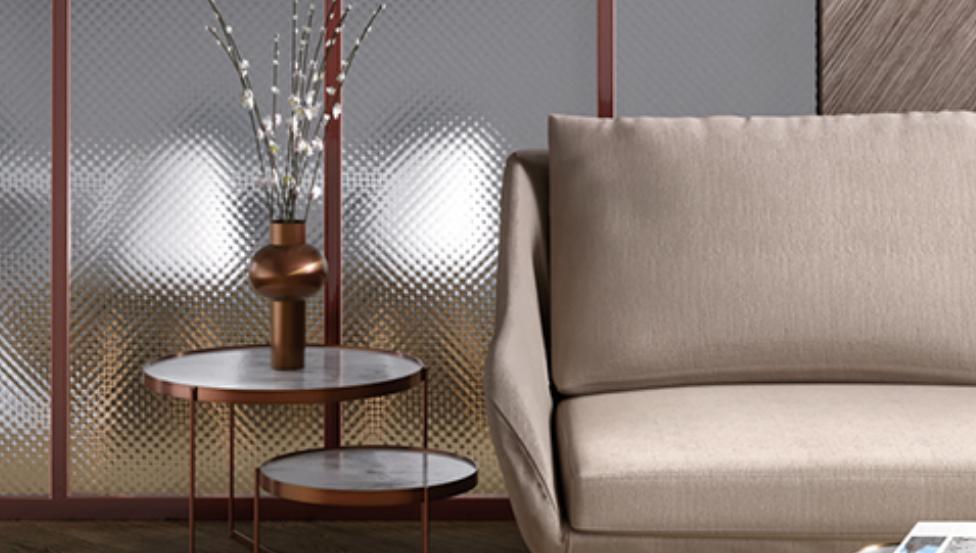 Figuurglas SGG MASTERGLASS voor prachtige patroon accenten in je interieur