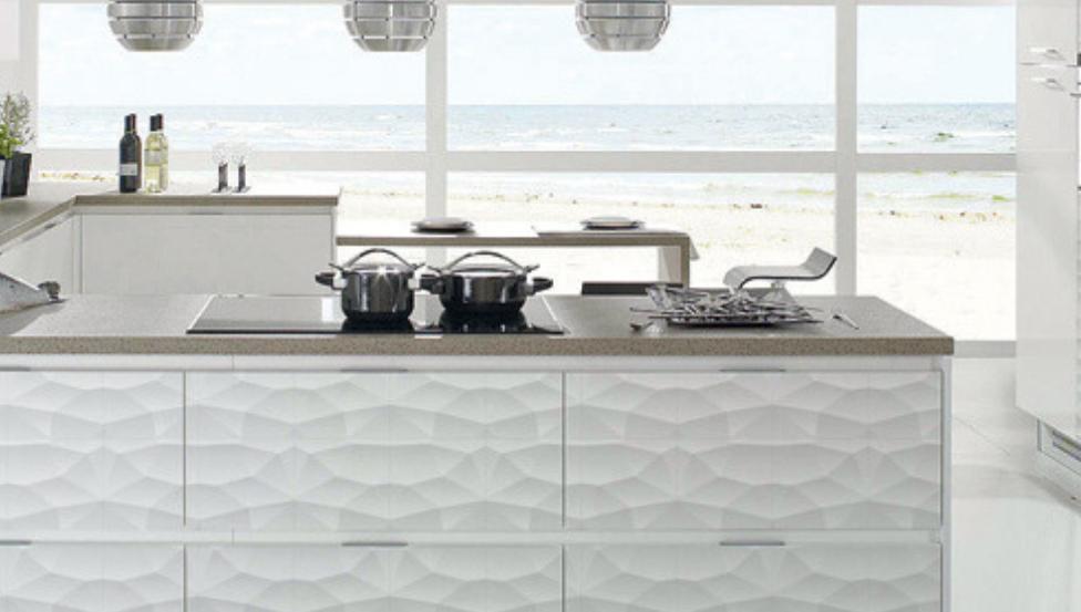 Impression digitale sur verre PICTUREit - Paroi de mobilier cuisine