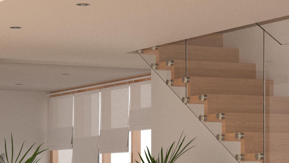 Logli Massimo : Oplossingen voor relingen en borstweringen voor vides en traphallen