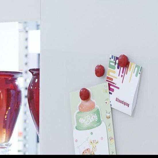 PLANILAQUE MEMORY | Magnetisch gelakt glas als markerboard of wand